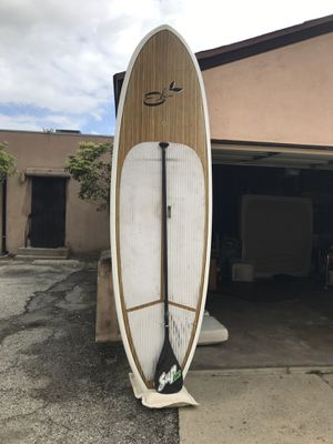 SUP Eko California Stand Up Paddle Board Paddleboard with Carbon Fiber Paddle for Sale in Long Beach, CA
