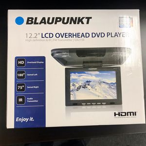 """12.2"""" Overhead LCD Monitor With DVD Player &HDMI Input for Sale in Fresno, CA"""