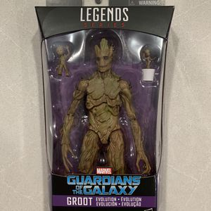 Groot Evolution Marvel Legends 3 Pack *MINT* Guardians of The Galaxy Avengers Infinity War Endgame Hasbro Baby Groot for Sale in Lewisville, TX