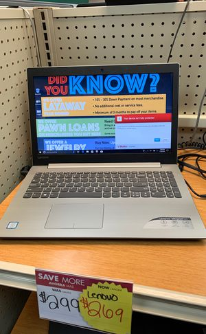 Lenovo laptop for Sale in Valley View, OH