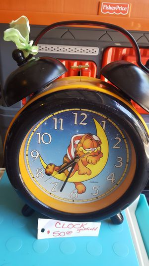Garfield Alarm Clock for Sale in San Diego, CA