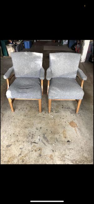 Nice reupholstered chairs! for Sale in Milwaukie, OR