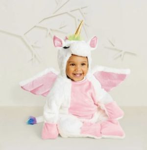NWT Unicorn baby costume size 0-6 mos for Sale in Corona, CA