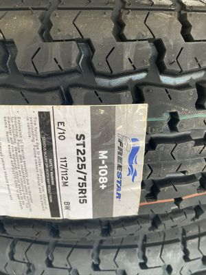 ST225/75r15 new trailer tires for Sale in Moreno Valley, CA