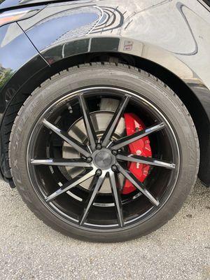 Vossen rims and tires Falken for Sale in Miami, FL