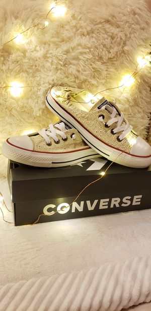 Authentic Shoreline eyelet Converse for Sale in San Francisco, CA