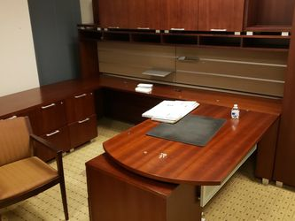 Professional Office Desk Suite O.b.O. for Sale in Fort Washington,  MD