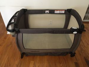 Baby NURSERY CENTER play pen , changing table , portable crib for Sale in Raleigh, NC