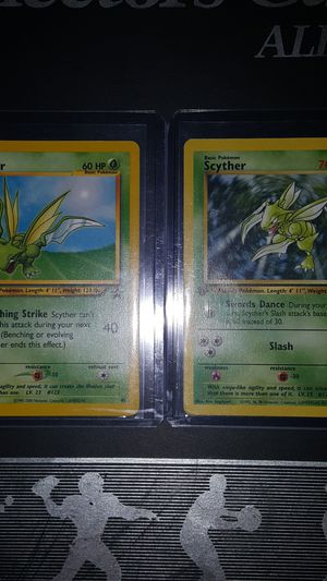 VINTAGE Scyther cards for Sale in Falls Church, VA