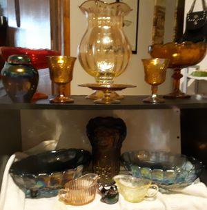 Carnival glass for Sale in Hartford, SD