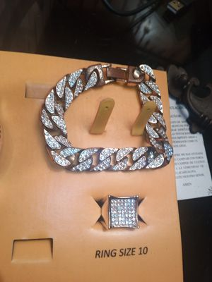 Bracelet and ring for Sale in West Saint Paul, MN