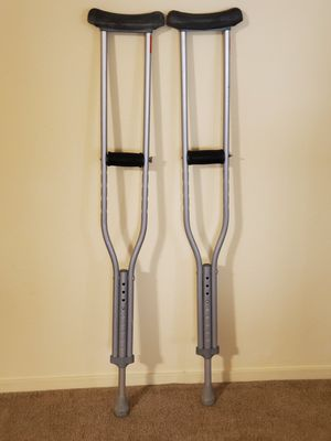 Crutches. Address : 6105 S Fort Apache Rd, 89148. Pick up only. for Sale in Las Vegas, NV