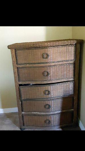 Wicker dresser for Sale in Lake Alfred, FL