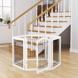 12 ft x 2 ft 6 in Pet Dog Gate / Kennel With Door for Sale in San Francisco, CA