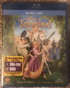 NEW Tangled Blu-ray + DVD NEW for Sale in Redlands, CA