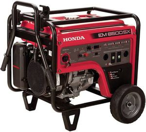 Honda EM6500SX - 5500 Watt Electric Start Portable Generator (CARB) - EM6500 for Sale in Temecula, CA