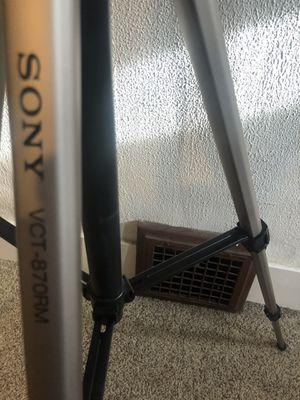 sony vct-870rm tripod for Sale in Spokane, WA