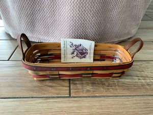 Longaberger 1993 All American Liberty Basket & Protector for Sale in Dunedin, FL