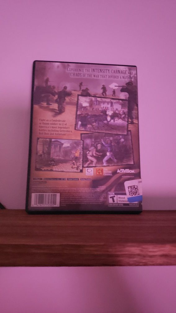Civil war: A nation divided [PS2]