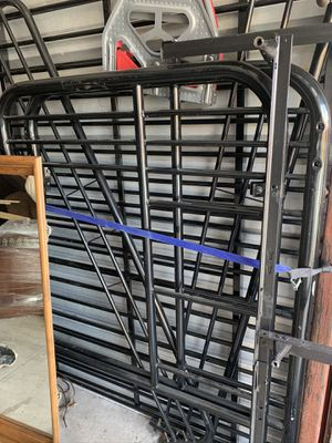 Black Bunk bed full and twin for Sale in Tulsa, OK