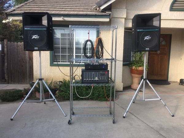 DJ Sound Equipment