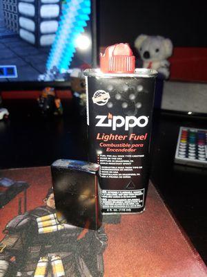 Zippo lighter & fluid for Sale in Moreno Valley, CA