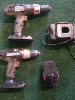 Craftsman Drills, Battery And Charger 19.2-Volts for Sale in Kenmore,  WA