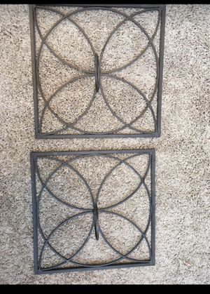 Wall decor. Half ft or more. Metal. Candle holder etc. for Sale in Fresno, CA