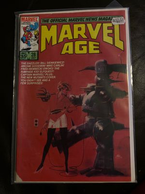 Marvel Age #28 marvel comic book for Sale in Phoenix, AZ