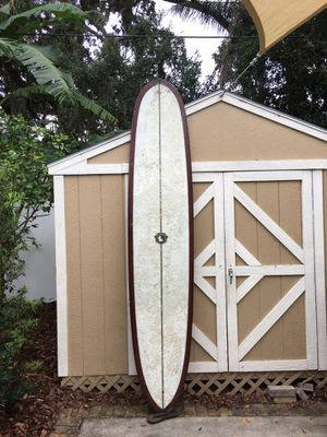 """9'6"""" long surfboard Pintail for Sale in Orlando, FL"""