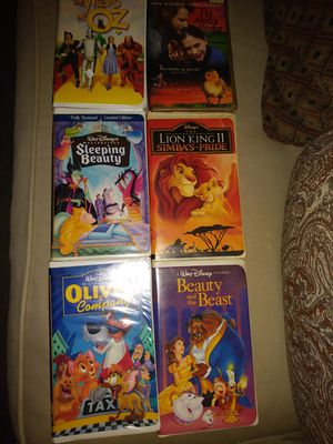 Rare edition vhs tapes for Sale in Dallas, TX