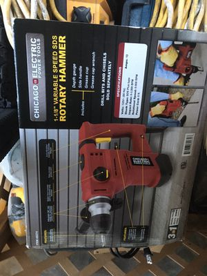 New rotary hammer for Sale in Oakland, CA