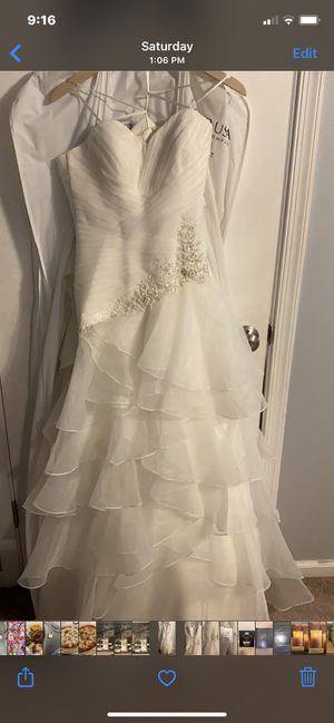 Christian Michelle Trumpet Wedding Dress for Sale in North Chesterfield, VA
