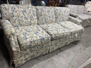 Floral sofa couch for Sale in Freedom, PA