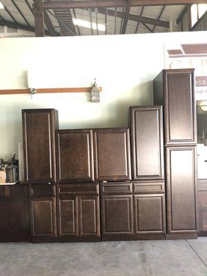 Kitchen cabinets espresso for Sale in Tampa, FL