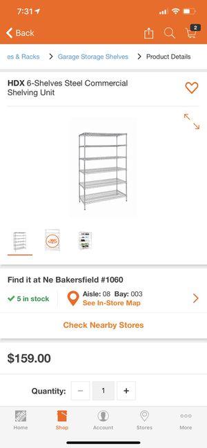 Huge metal shelving. for Sale in Bakersfield, CA
