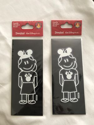 "Disney Girl Mickey Mouse Ears White Stickers 4"" BRAND NEW for Sale in San Diego, CA"