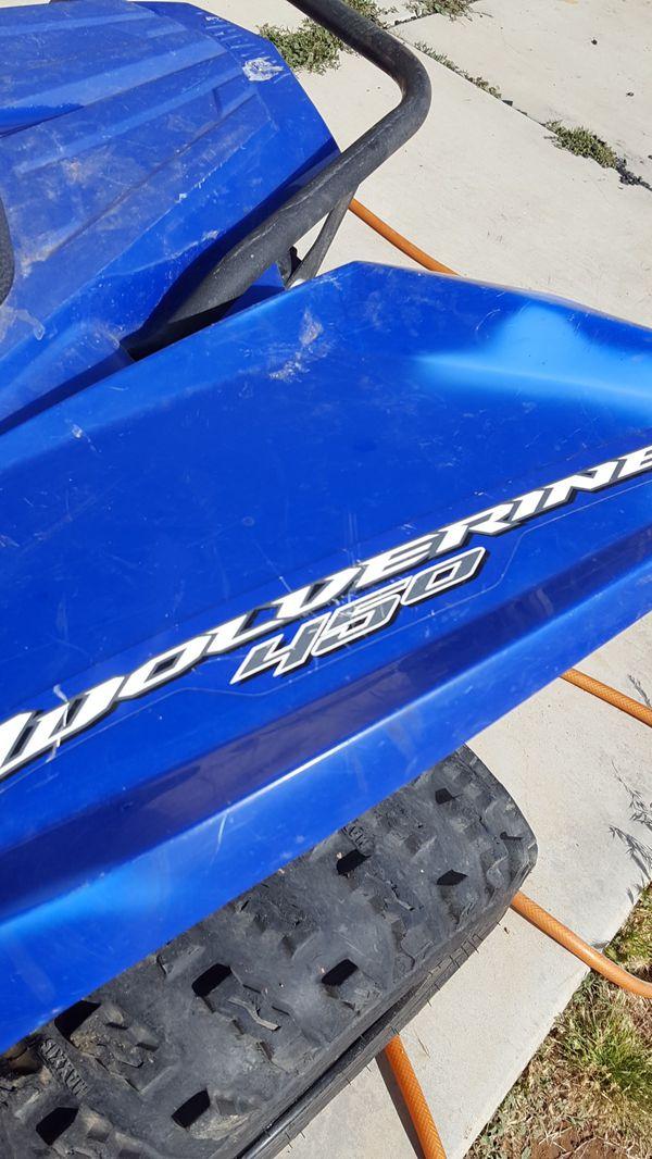 Yamaha Wolverine 450, 4x4. Auto Trans.