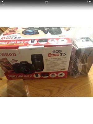 New Canon EOS Rebel T5 18MP Digital SLR Camera Kit for Sale in Gilbert, AZ