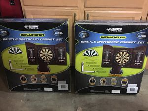 Bristle dart boards and cabinets for Sale in Auburn, WA