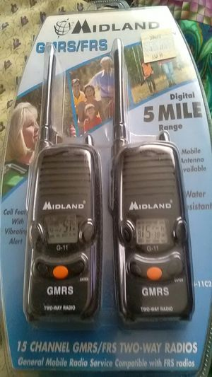 MIDLAND TWO WAY WALKIE TALKIES/RADIOS for Sale in St. Louis, MO