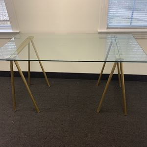 Glass Desk $60 for Sale in Durham, NC