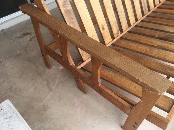 Wood Futon Frame