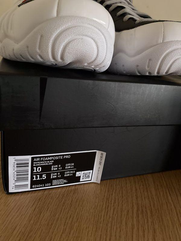 Nike Air Foamposite Pro size 10