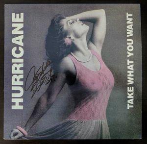 "Hurricane 1985 ""Take What You Want"" Jay Schellen Signed Autograph Vinyl LP $35 for Sale in Las Vegas, NV"