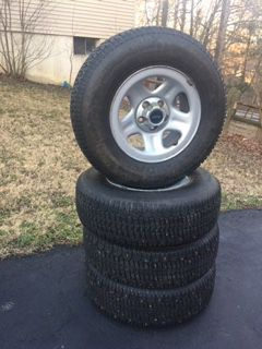 Jeep wheels and tires for Sale in Lorton, VA