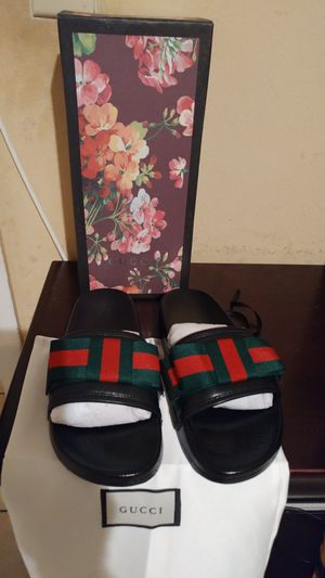 Brand new Authentic Gucci slides size 40 for Sale in TEMPLE TERR, FL