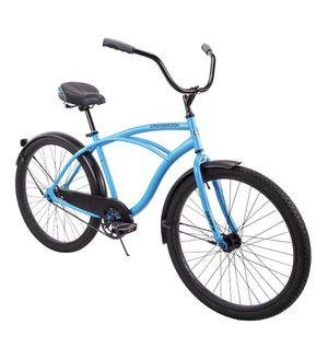"Huffy 26"" Cranbrook Men's Comfort Cruiser Bike, Matte Blue for Sale in Godfrey, IL"