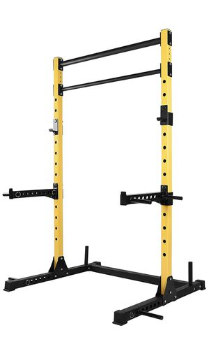 HulkFit Multi-Function Adjustable Power Rack Exercise Squat Stand for Sale in Oakland, CA