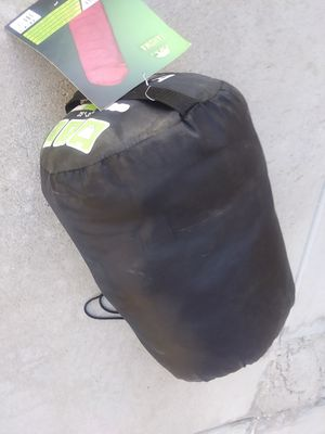 BRAND NEW sleeping bag tag still on it AND AIR MATRESS for Sale in Peoria, AZ